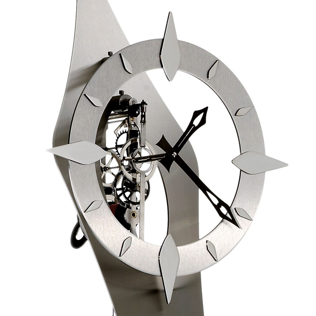 Horloge comtoise contemporaine design moderne hortence for Horloge design murale
